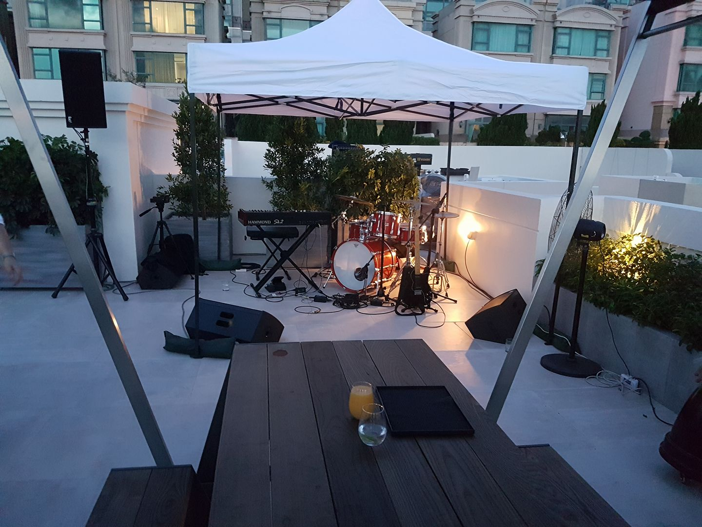 Rooftop Party in Client's Home! (2017)